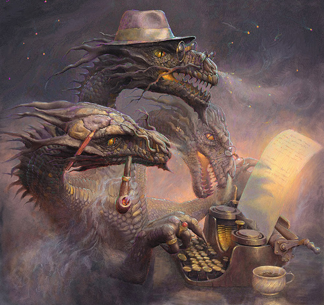 1000x940_13925_Dragon_Writer_2d_fantasy_illustration_dragon_writer_picture_image_digital_art