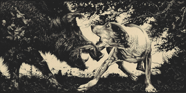 Zouravliov-Hound_and_Boar